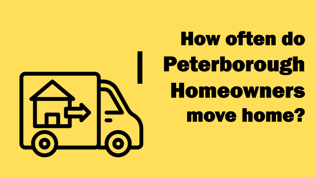 Half of Peterborough Homeowners Move Again Within 7 Years and 41 Weeks – Why?