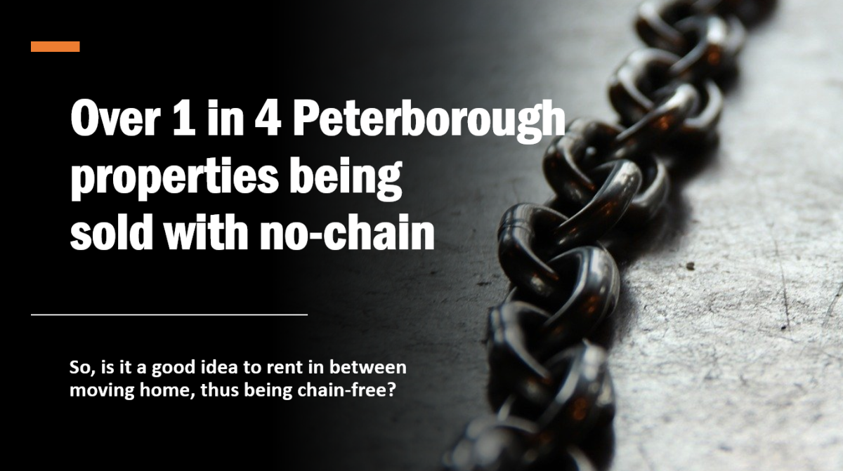 Over 1 in 4 Peterborough Properties Being Sold with NoChain
